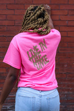 "LittQueen ""Live In The Time"" Crew Neck"