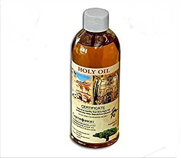 Certificated blessed 60 ml small bottle of holy land Anointing oil from Jerusalem