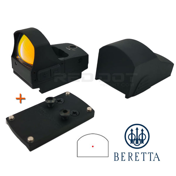 Viseur Micro Point Rouge SPIRIT pour Beretta 92 Viseur Point Rouge - Red Dot Sight