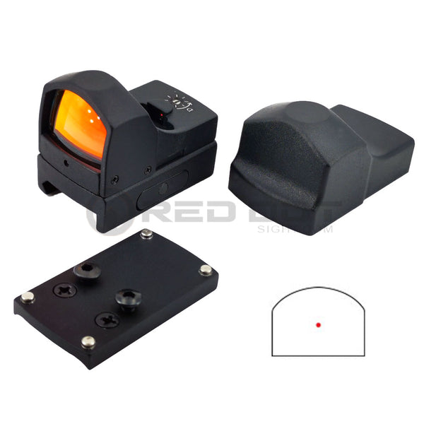 Kit Mini Red Dot SPHINX avec Adaptateur pour Pistolet Viseur Point Rouge - Red Dot Sight