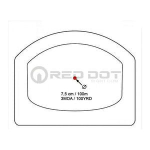 Viseur Micro Point Rouge SPIRIT pour Glock Viseur Point Rouge - Red Dot Sight
