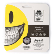 Grin Chevron Patch