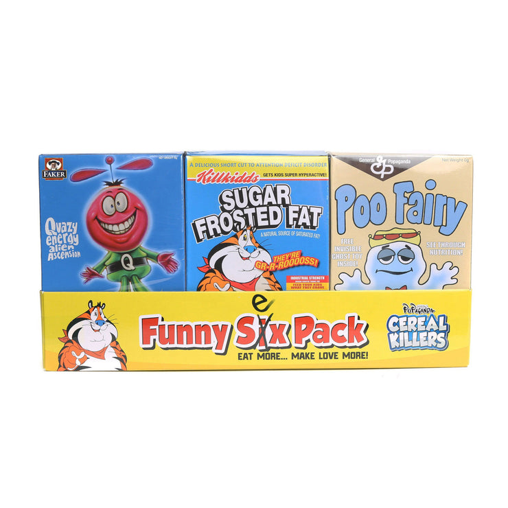 Cereal Killers Funny Six Sex Pack