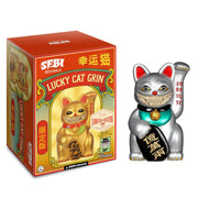 "SFBI/RON ENGLISH - LUCKY CAT GRIN 8""--Platinum Version"