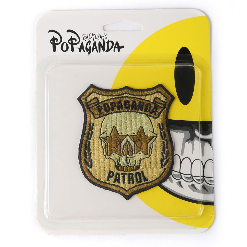 POPAGANDAPATROLPATCH(GOLD)