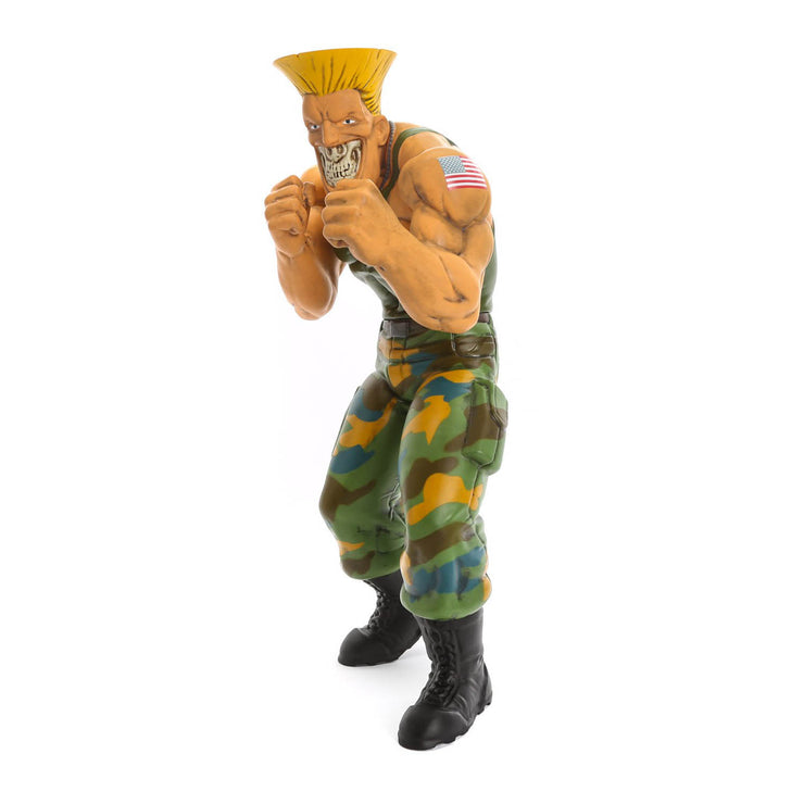 "Street Fighter x Ron English Guile 15"" Vinyl Figure"