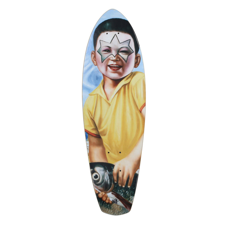 Fish Boy Skate Deck