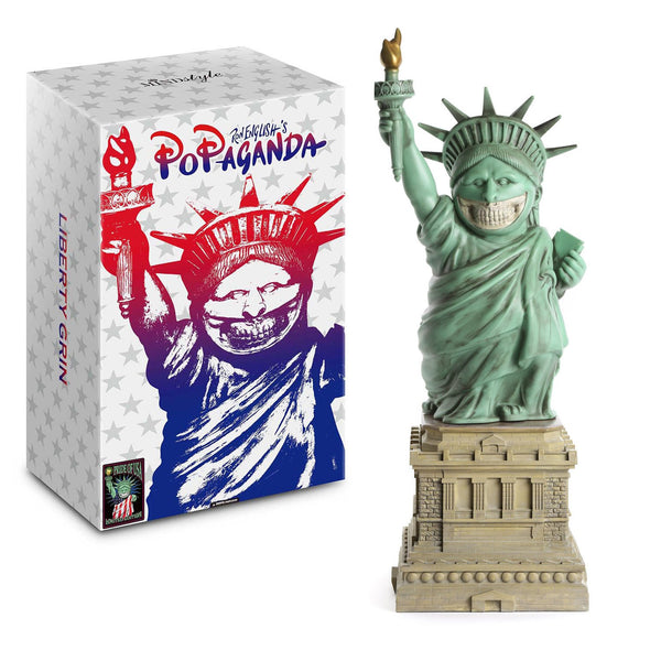 "Liberty Grin 22"" Statue - Original"