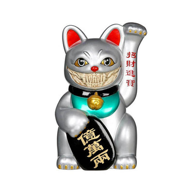 "LUCKY CAT GRIN 8"" (Platinum Version)"