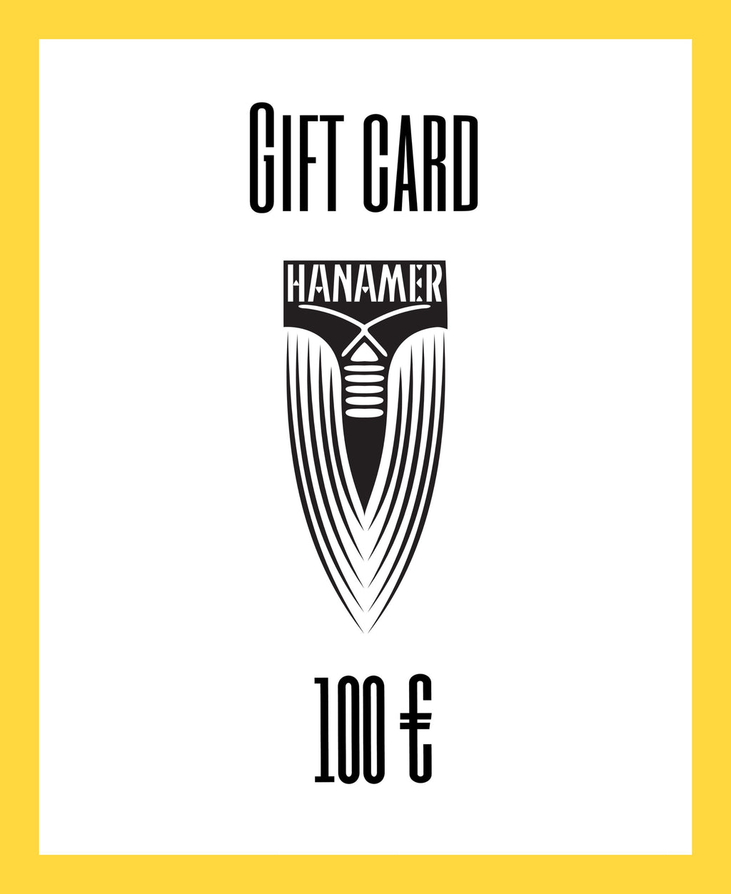 Gift Card 100 Euro Value