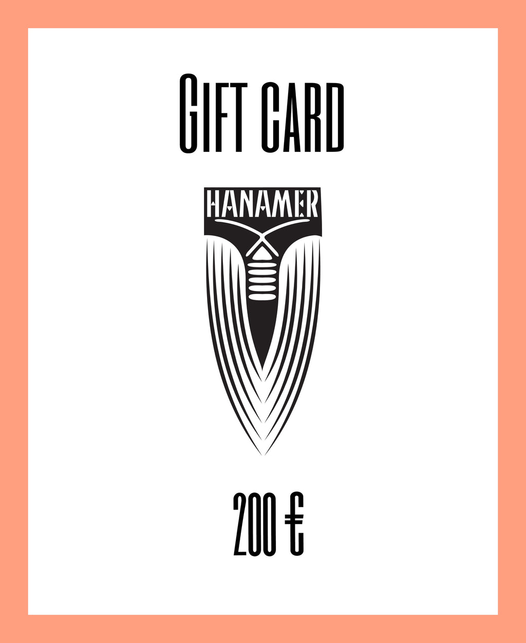 Gift Card 200 Euro Value
