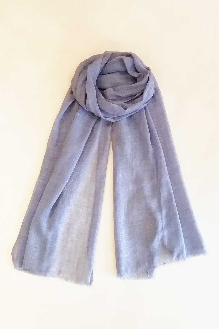 Blue Grey Modern Light Scarf