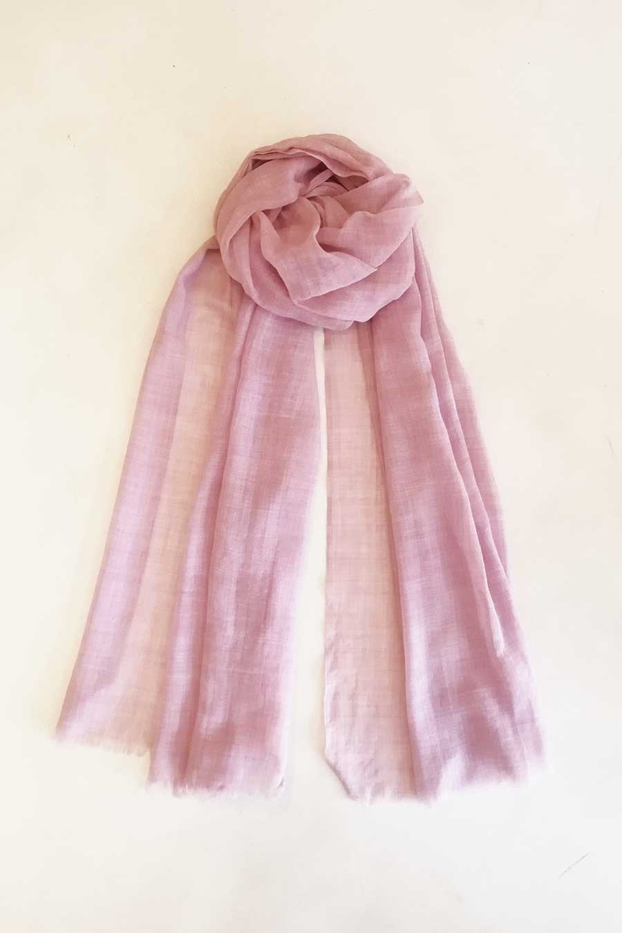 Boho Chic Dusty Pink Scarf