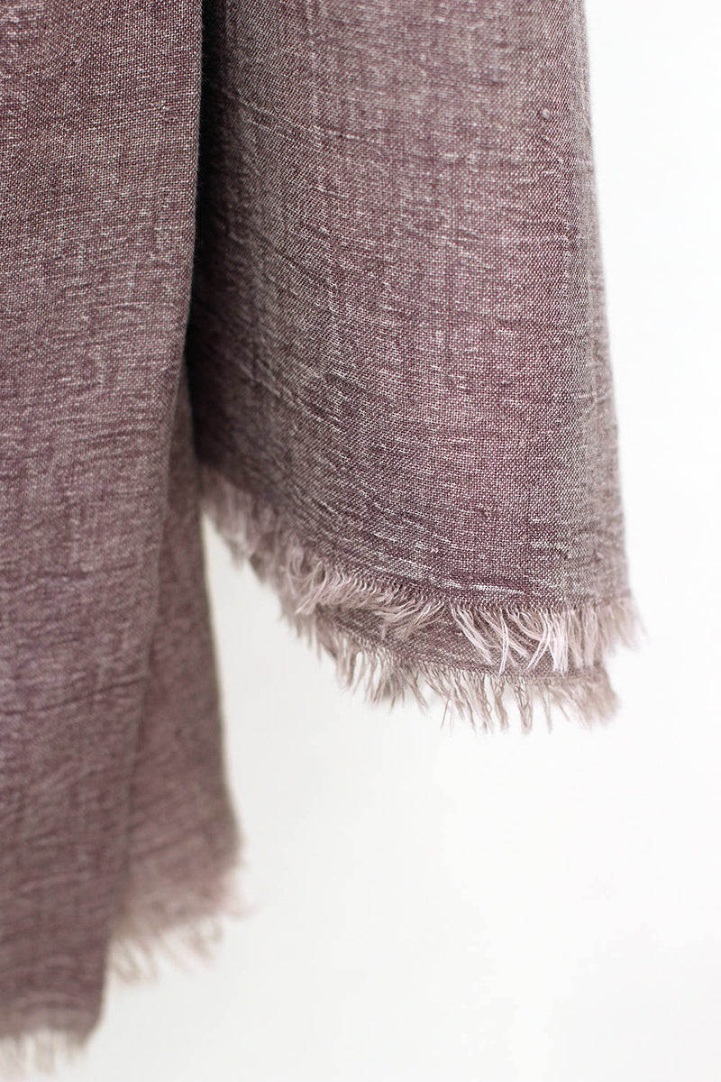 IZZY SCARF DUSTY PURPLE