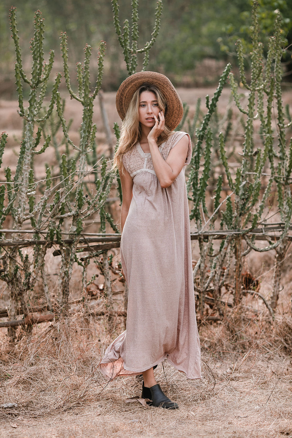 ALMA MAXI DRESS LIGHT PURPLE