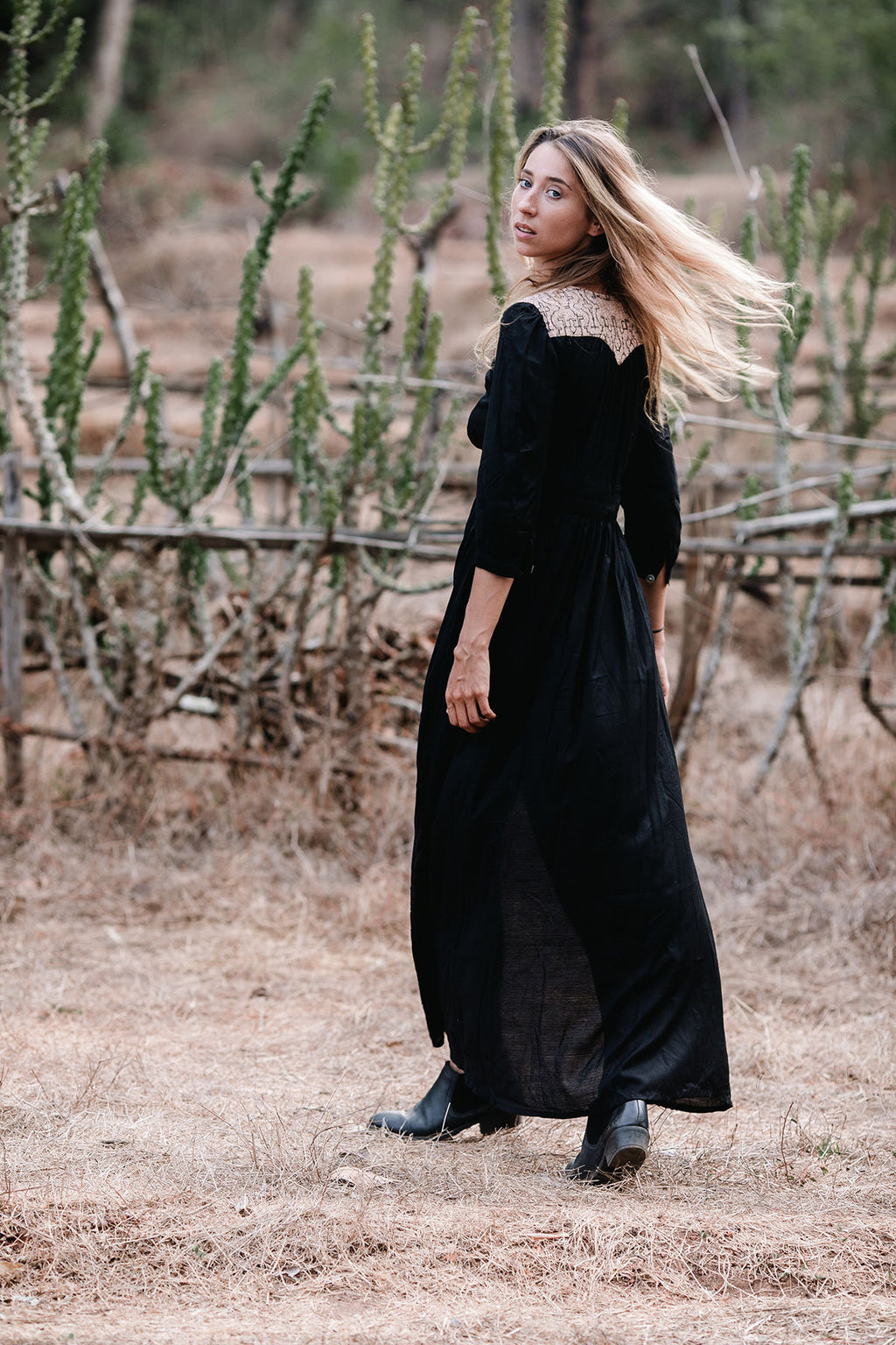NAYELI MAXI DRESS BLACK