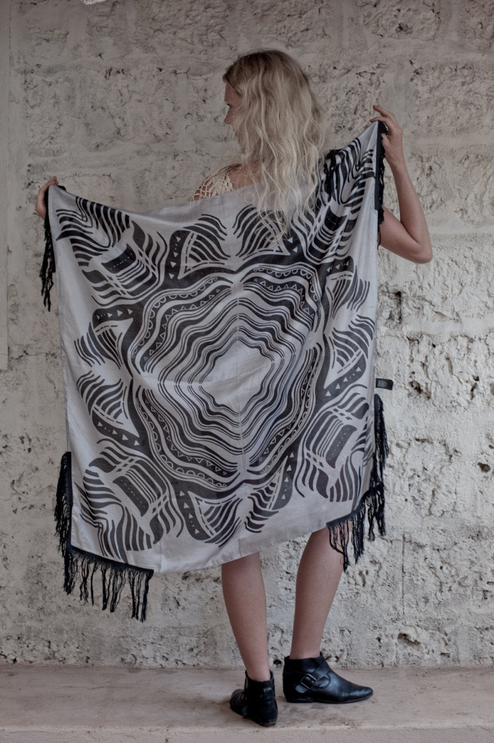 ANIMAL SILK SCARF