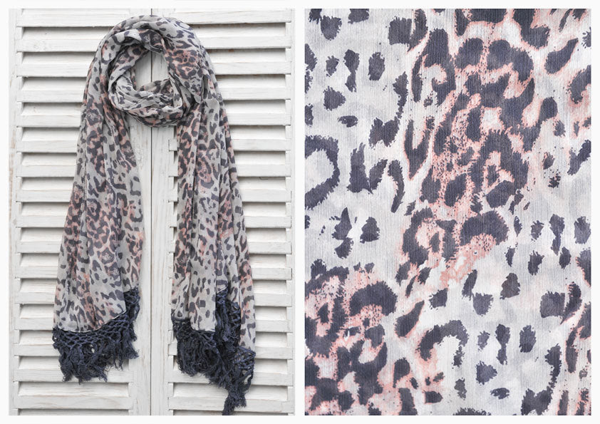 LEO NARROW SCARF