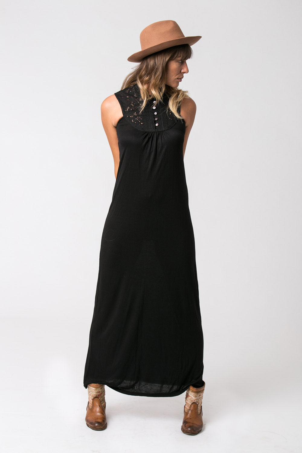 DREAM MAXI DRESS BLACK