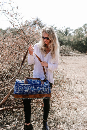 Indigo Travel Boho Unisex Bag