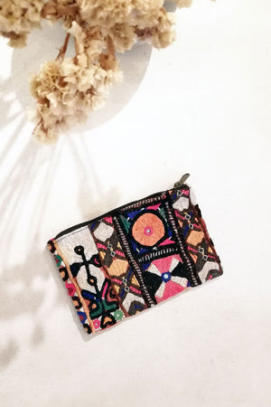 Nur Wallet Emroidered Hand Made Tribal