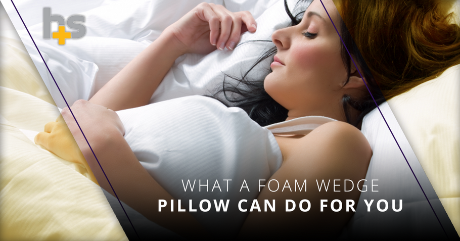 What A Foam Wedge Pillow Can Do For You