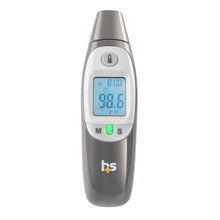 HealthSmart Compact Instant Read Infrared Digital Ear Thermometer, Gray