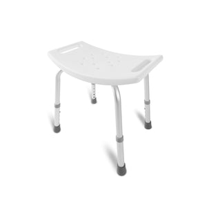 DMI Medical Heavy-Duty Spa Bathtub Tool-Free Assembly Adjustable Height Shower Chair Bath Seat Bench, White …