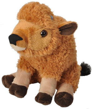 Wild Republic Bison Calf Stuffed Animal - 12""
