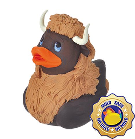 Wild Republic Rubber Duck Bison