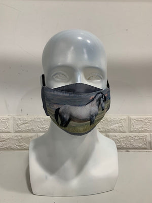 Chasing Horses Face Masks - 2nd release