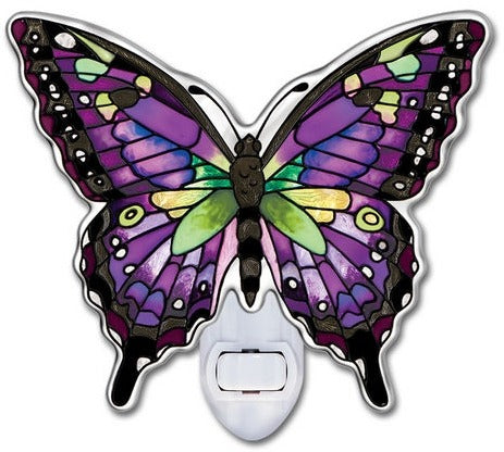 Purple Swallowtail Night Light