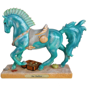 Sea Stallion Figurine by Trail of Painted Ponies
