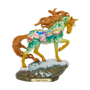 Vintage Christmas Figurine by Trail of Painted Ponies