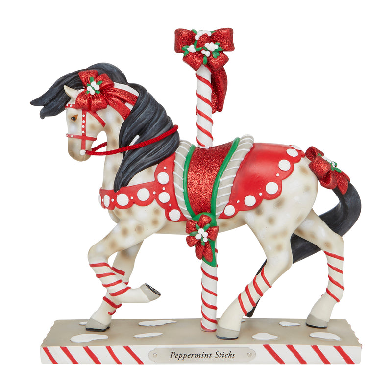Peppermint Sticks Figurine by Trail of Painted Ponies