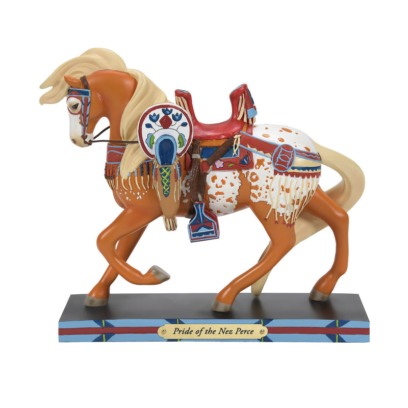 Pride of the Nez Perce Figurine by Trail of Painted Ponies