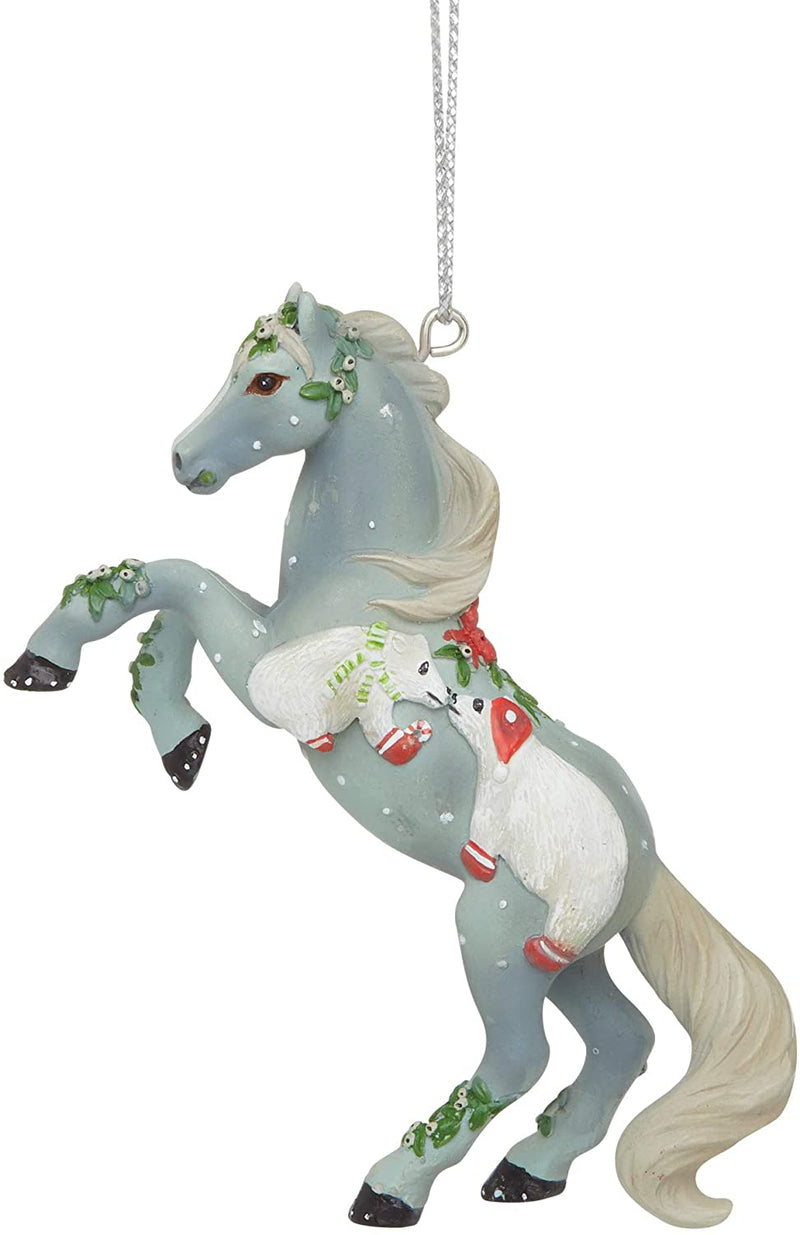 Mistletoe Kisses Ornament by Trail of Painted Ponies