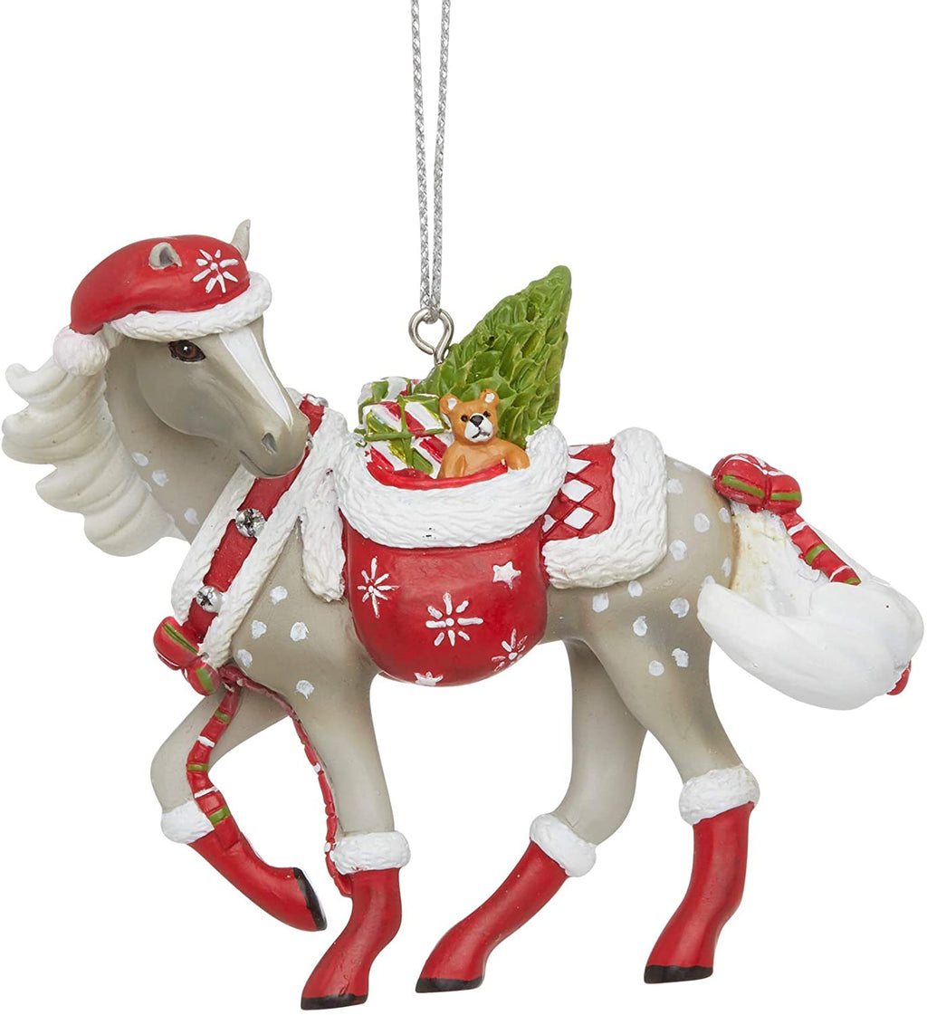 Santa's Little Helper Ornament by Trail of Painted Ponies