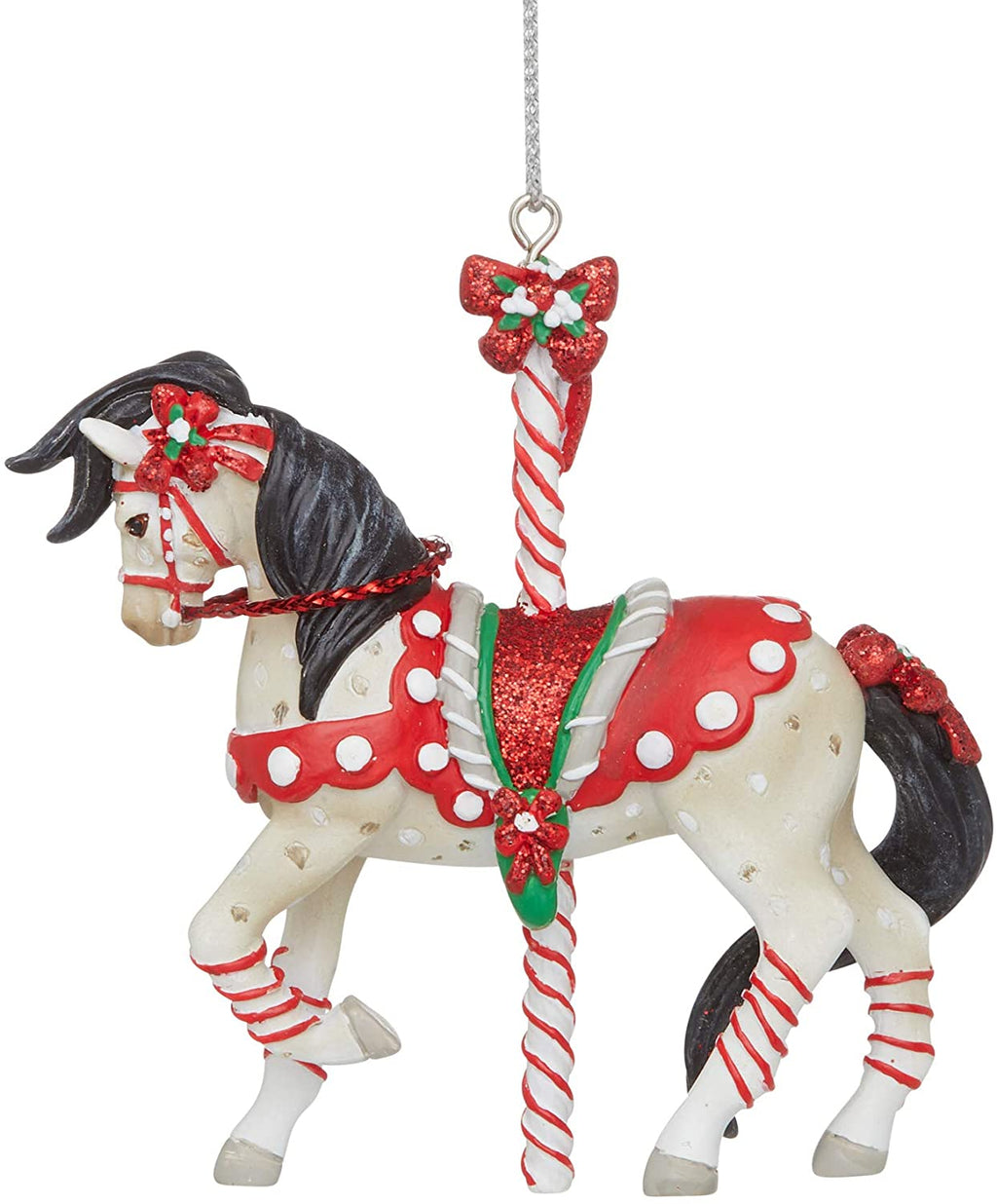 Peppermint Sticks Ornament by Trail of Painted Ponies
