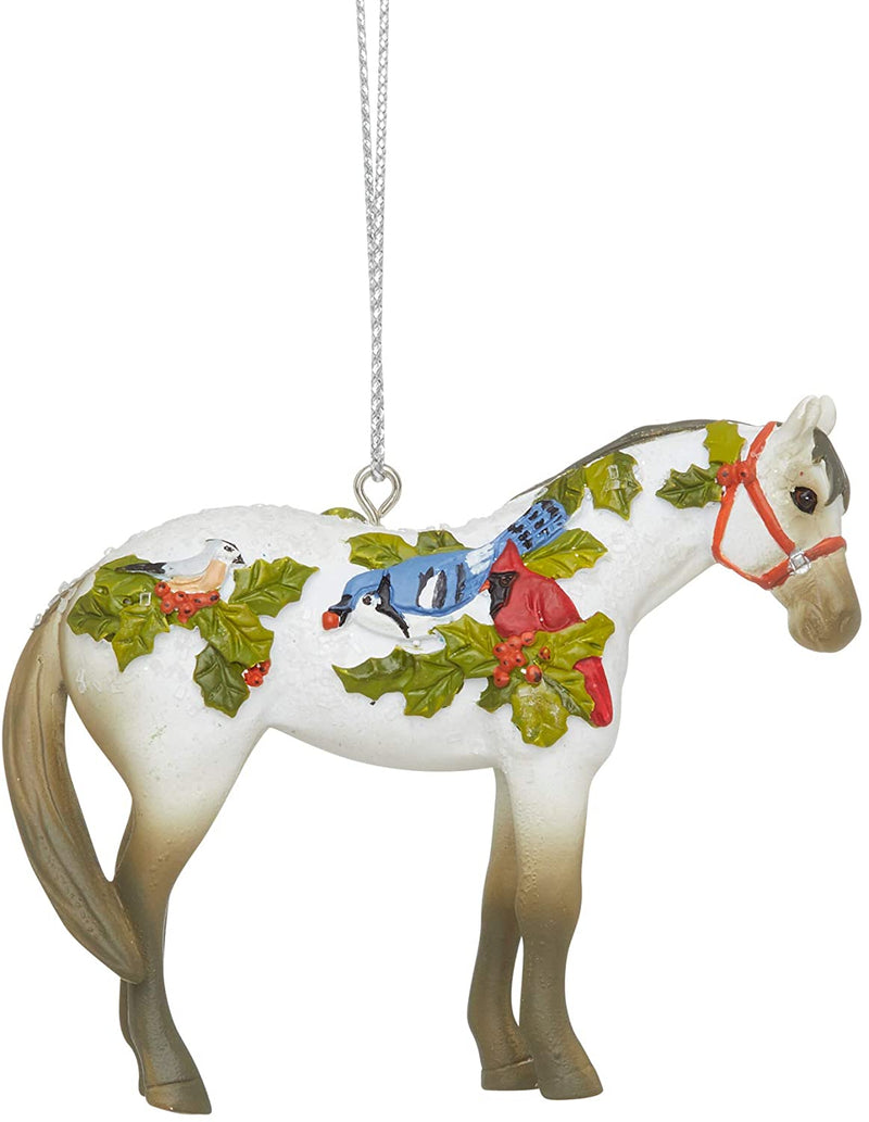 Winter Feathers Ornament by Trail of Painted Ponies