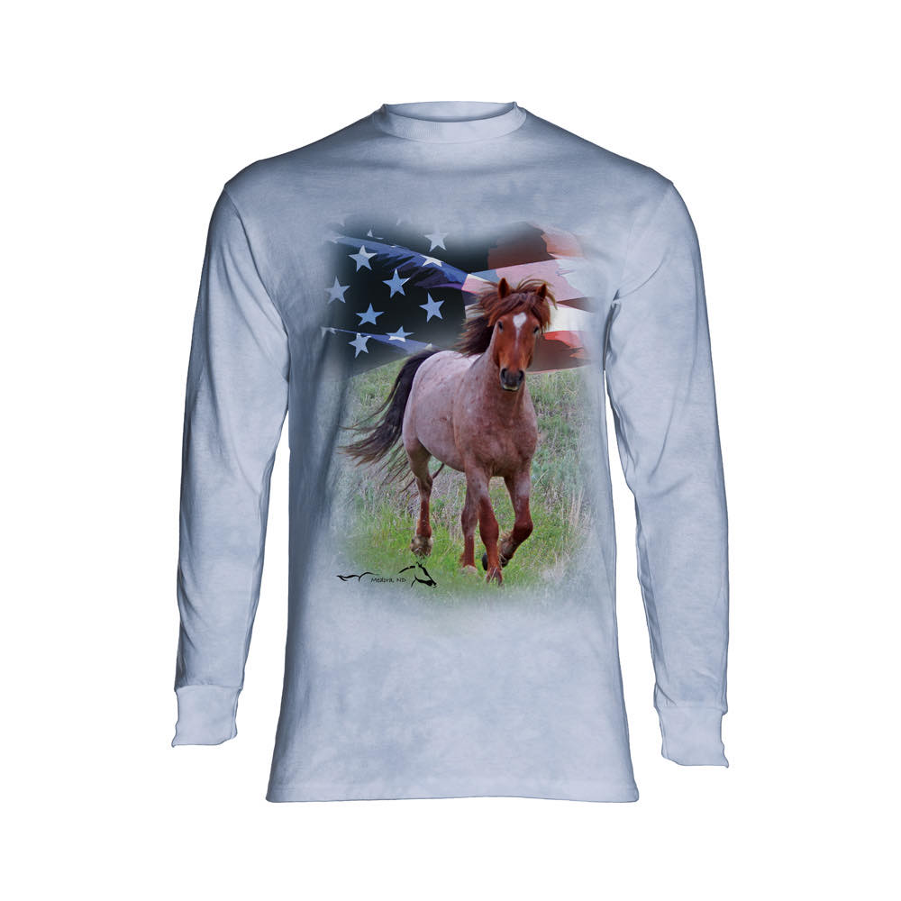 Stallion Ollie Jr. Long Sleeve Shirt