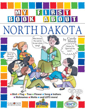 My First Book About North Dakota