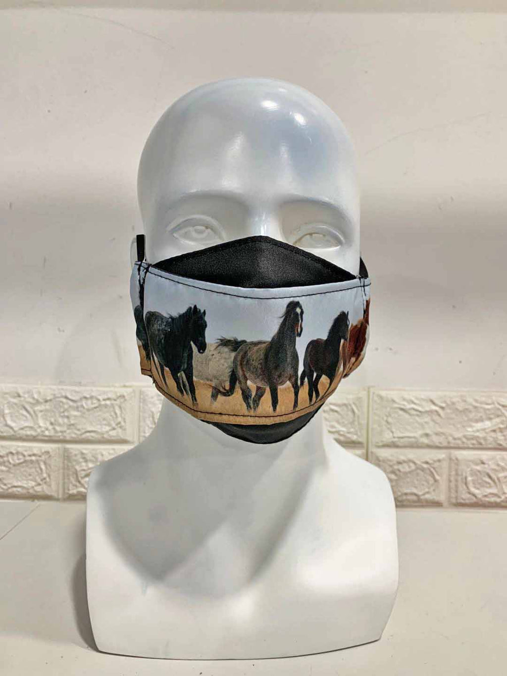 Chasing Horses Custom Face Masks 4th Release