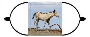 Chasing Horses Children's Face Masks