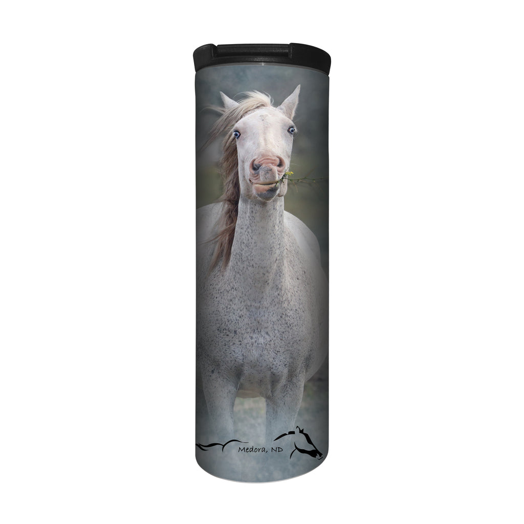 Mare Spotted Blue Barista Travel Mug