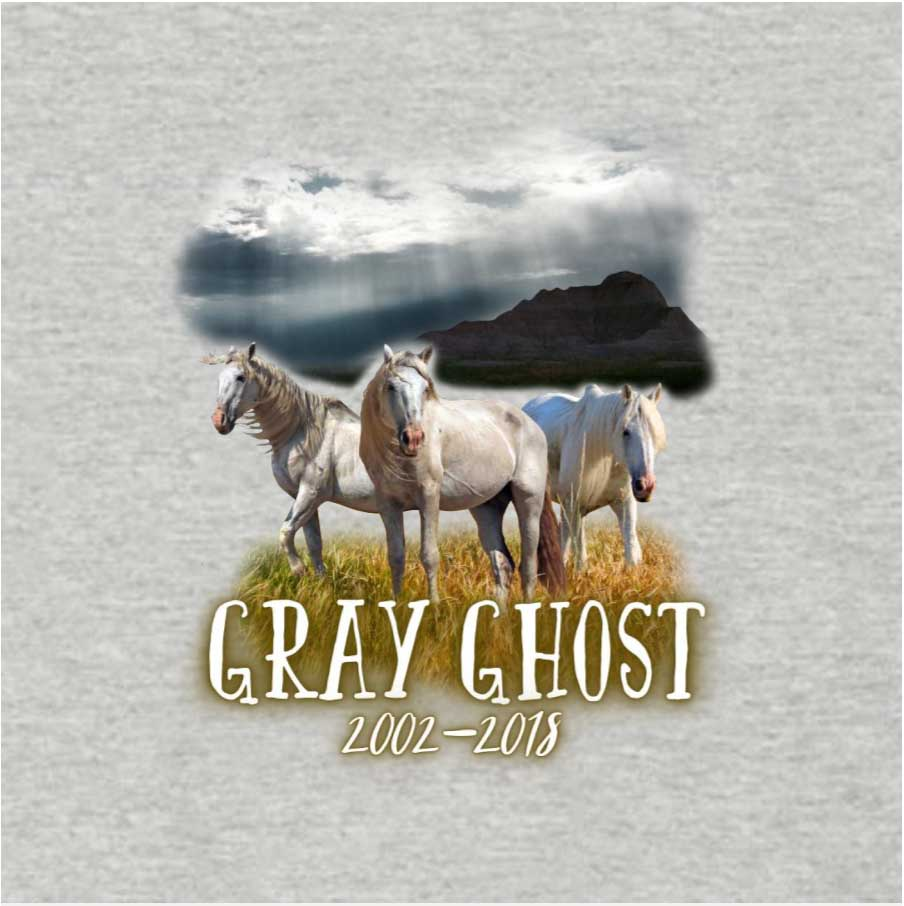 Stallion Gray Ghost T-Shirt