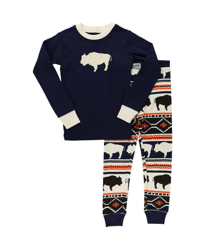 Buffalo Fair Isle | Kid PJ Set