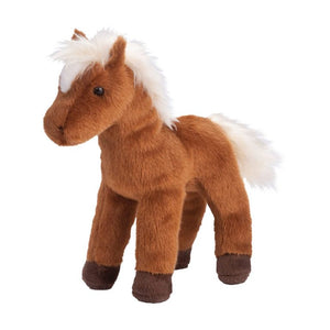 Mr. Brown the Plush Chestnut Horse