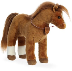 "Breyer 13"" Quarter Horse plush horse by Aurora"