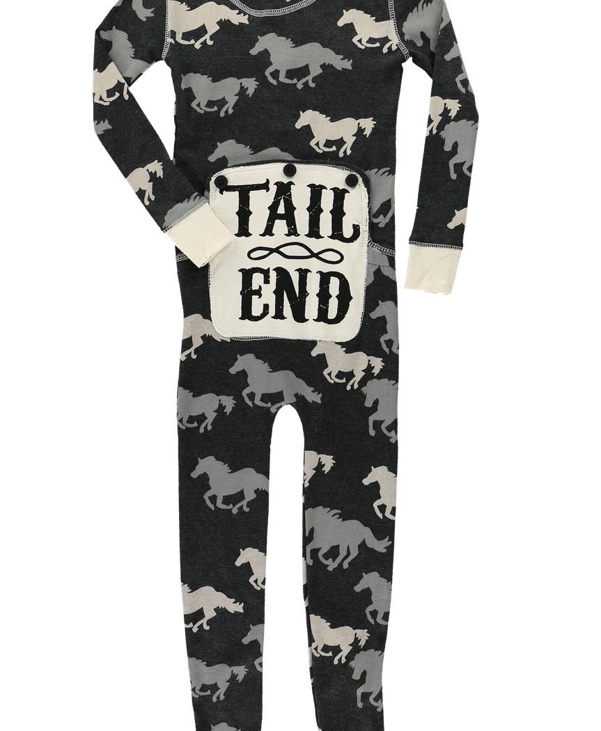 Tail End - Horse - Kid Onesie Flapjack